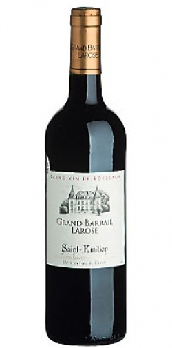 <h6  style='color:#FFFFFF;'>Saint-Emilion Grand Barrail Larose-Rouge (0.00&euro;)</h6>