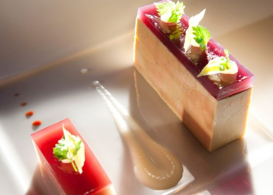 <h3 class='prettyPhoto-title'>Foie gras</h3><br/>Foie gras, fruit wine